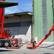 220 Tonnen Autokran und 43 Meter Gelenkteleskoparbeitsbühne von Rachbauer Straßwalchen